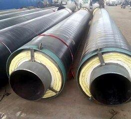 耐高温钢套钢蒸汽保温钢管