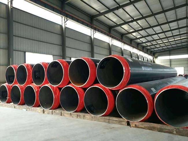 热力管网聚氨酯直埋发泡保温管