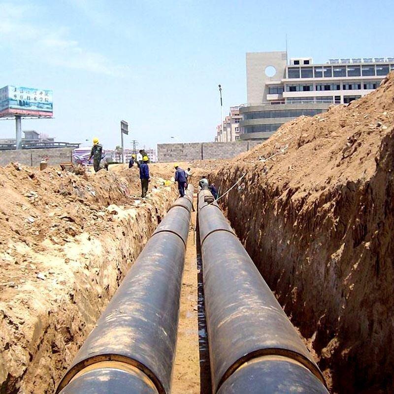 市政供暖用聚氨酯发泡保温钢管