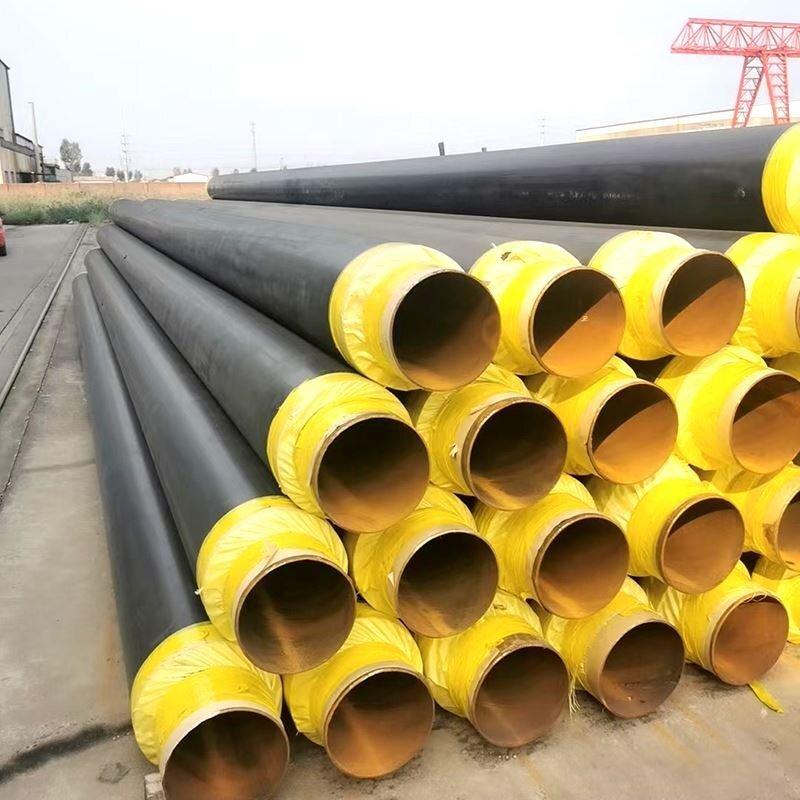 高温热水输送聚氨酯保温钢管