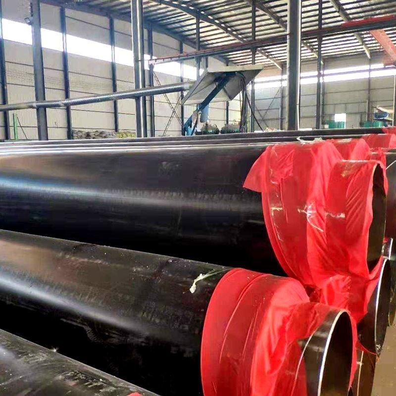 黑夹克聚氨酯保温钢管