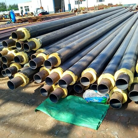 熱水輸送聚氨酯保溫鋼管