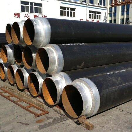 直埋熱水輸送保溫鋼管