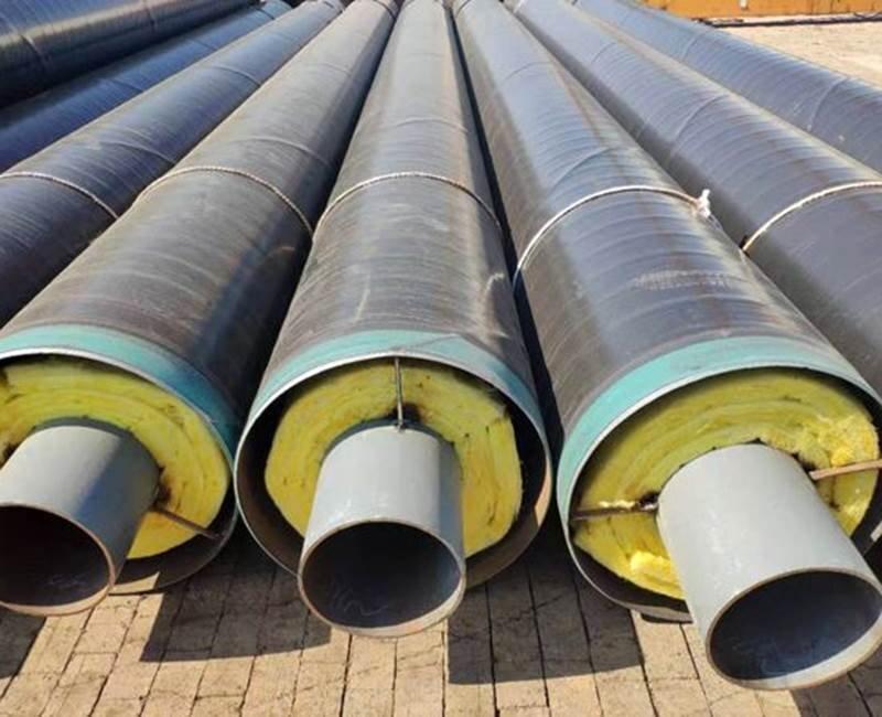 小区供热用保温钢管