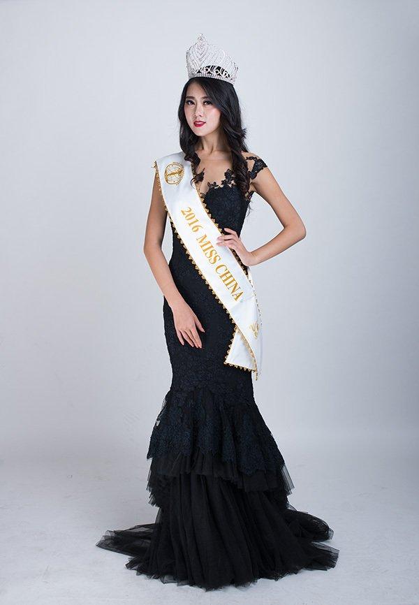 山东姑娘刘笑颜将代表中国出征洲际小姐全球总决赛,第4张