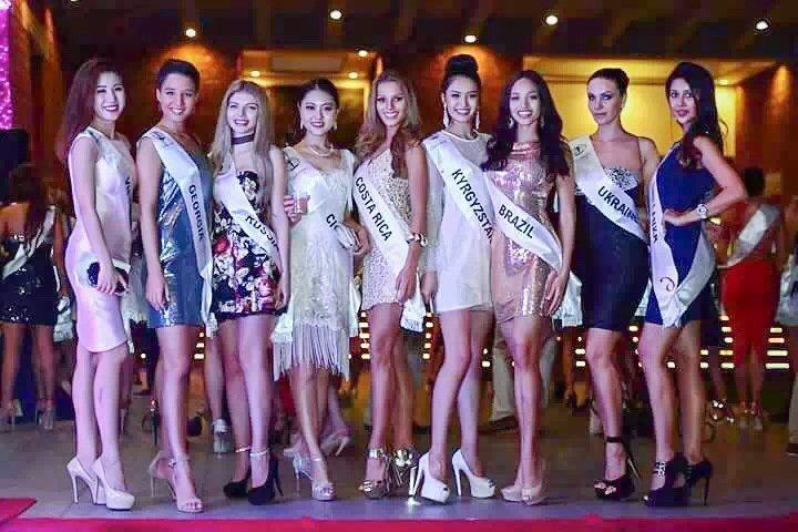 洲际小姐全球总决赛决战在即 中国区主席刘树文出席欢迎晚宴,第1张