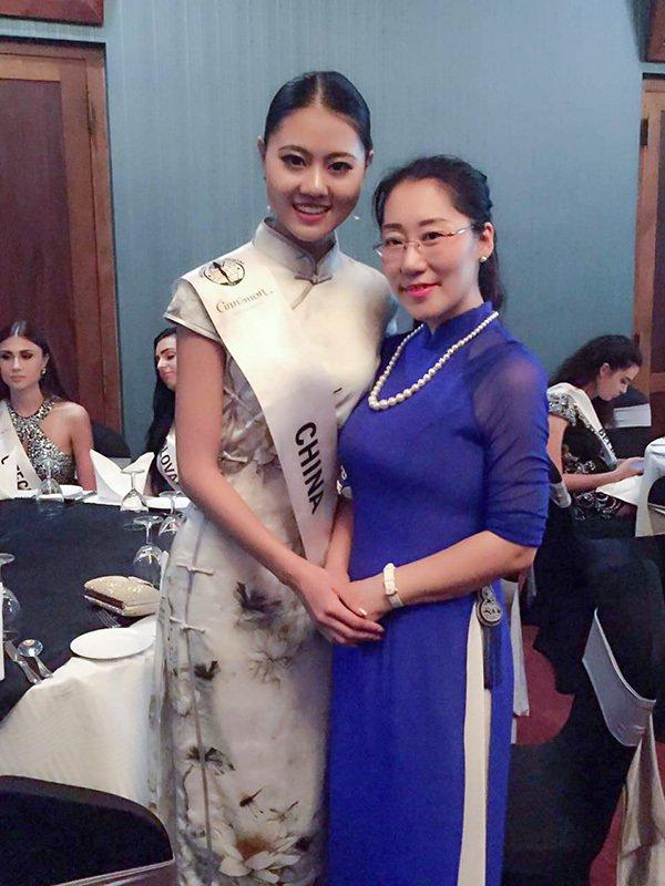 洲际小姐全球总决赛决战在即 中国区主席刘树文出席欢迎晚宴,第3张