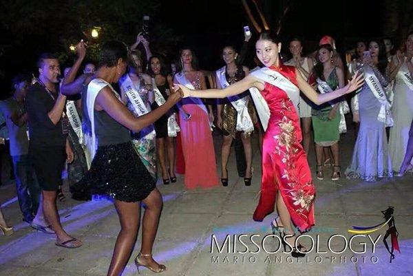 洲际小姐全球总决赛决战在即 中国区主席刘树文出席欢迎晚宴,第7张