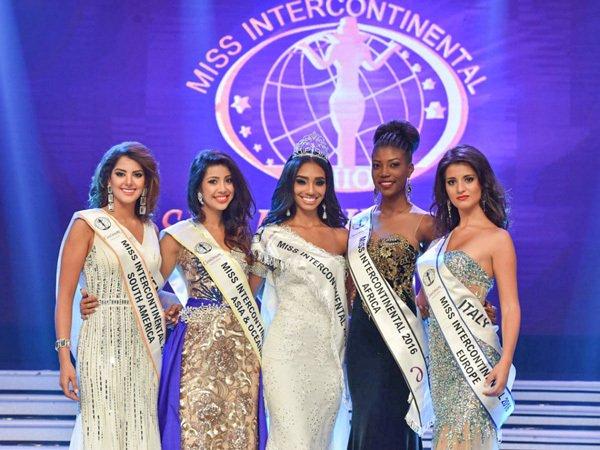 第45届洲际小姐全球总决赛落幕 中国小姐刘笑颜跻身15强,第1张
