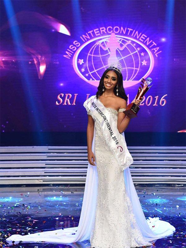 第45届洲际小姐全球总决赛落幕 中国小姐刘笑颜跻身15强,第4张
