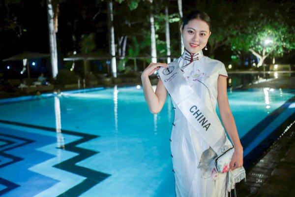 中国网专访洲际小姐刘笑颜 揭秘全球顶级选美大赛幕后花絮,第2张
