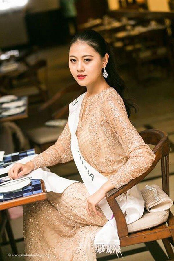 中国网专访洲际小姐刘笑颜 揭秘全球顶级选美大赛幕后花絮,第16张