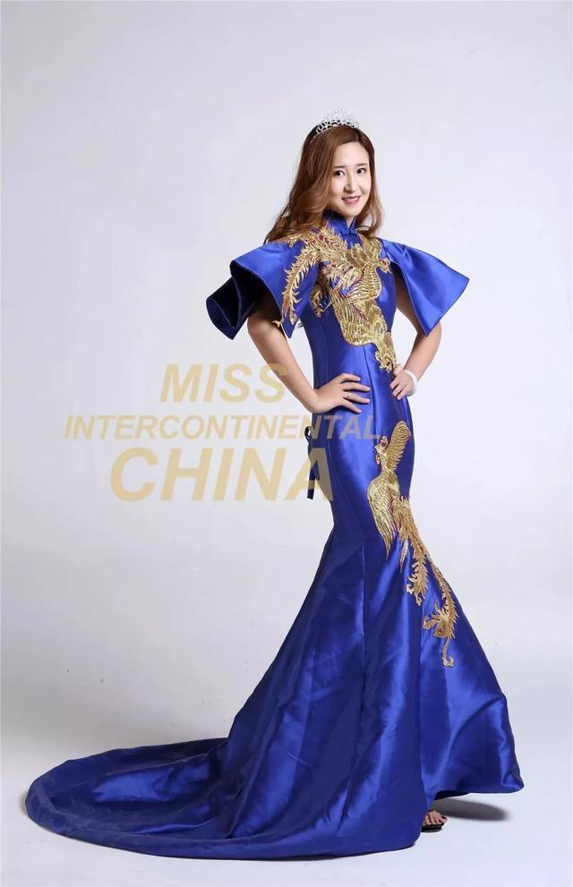 """第47届洲际小姐中国大赛第四名杨洪雨 十八岁的""""雨""""季"""