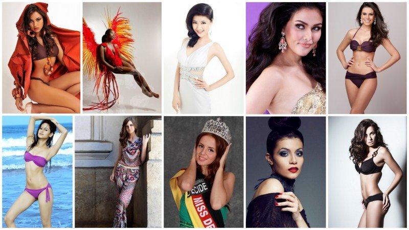 2012年洲际小姐全球总决赛选手