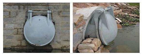 白水高压铸铁拍门(拍门厂家)生产