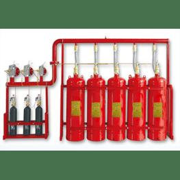 管网七氟丙烷气体灭火装置