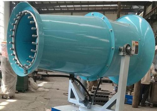 风送式远程喷雾机降尘的两个工作原理