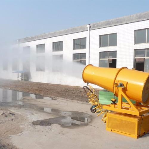风送式雾炮机是抑制煤场污染的大功臣
