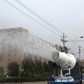 风送式远程喷雾机在城市空气治理中的应用