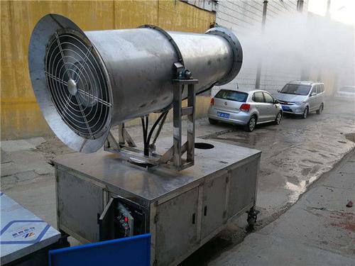 风机在雾炮机设备中的作用