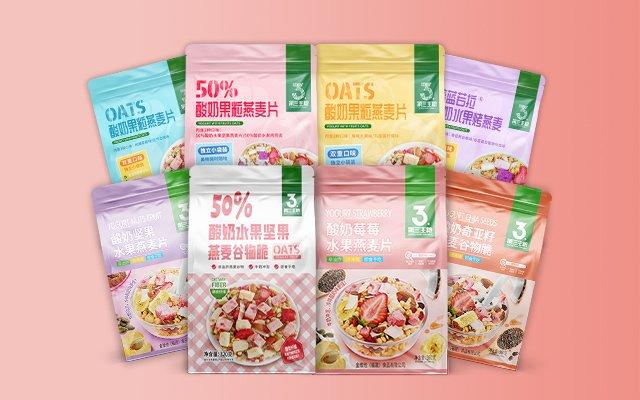 酸奶果粒燕麦片系列1