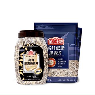 高纖低脂黑麥片 500g/包  1000g/罐