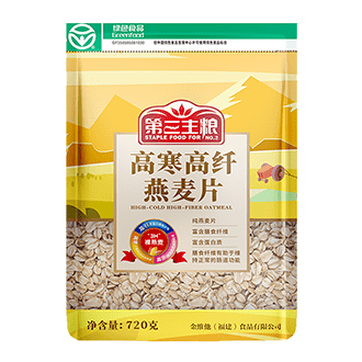 高纖田園風燕麥片720g、500g 包