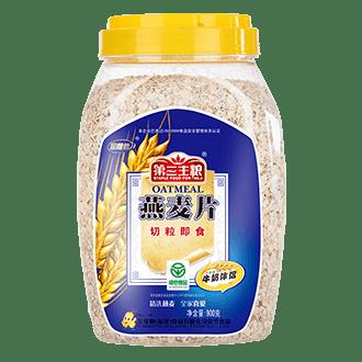 燕麥片切粒即食900g包