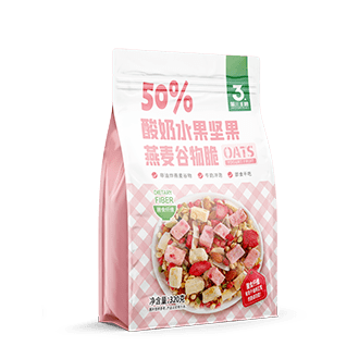50%酸奶水果堅果麥谷物脆  320g包 108g包