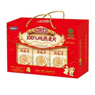 100%純燕麥片 750g盒