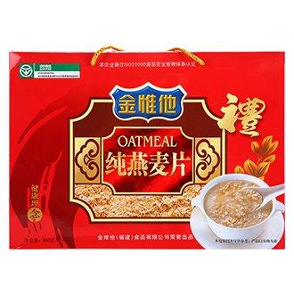 纯燕麦片 600g盒