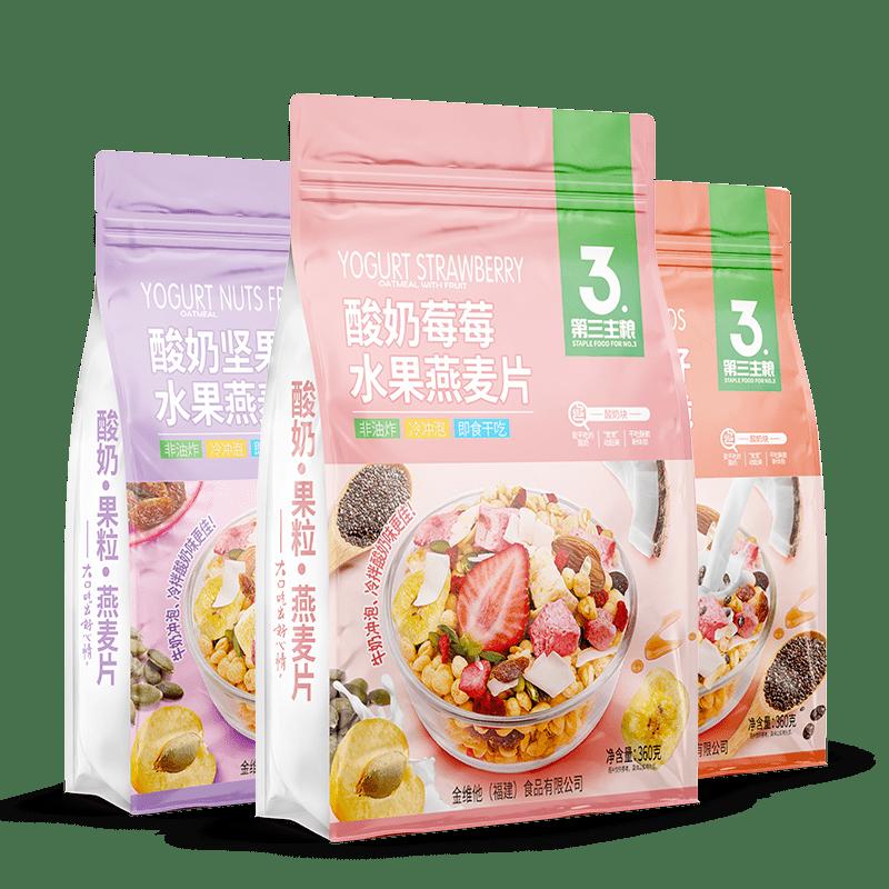 酸奶果粒燕麦片 360g包