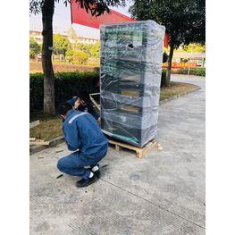 广州天河区天河城卸货工人