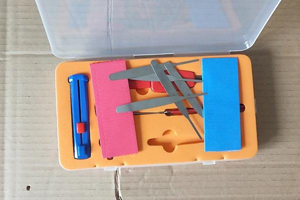 叶片锁复合定齿工具套装