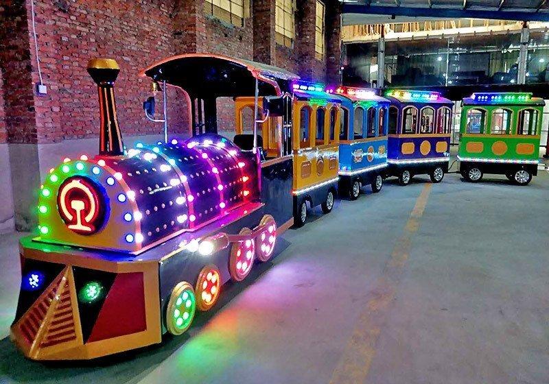 游乐设备游乐,新型电动观光火车,观光火车