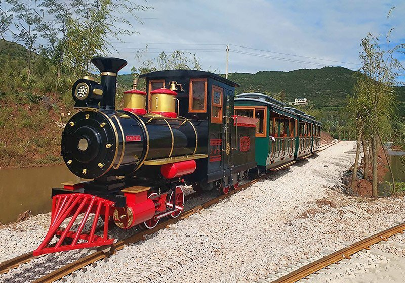 轨道观光小火车,景区轨道观光火车厂家,轨道观光