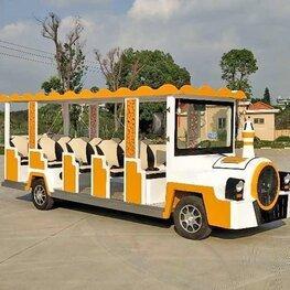 电动燃油观光车