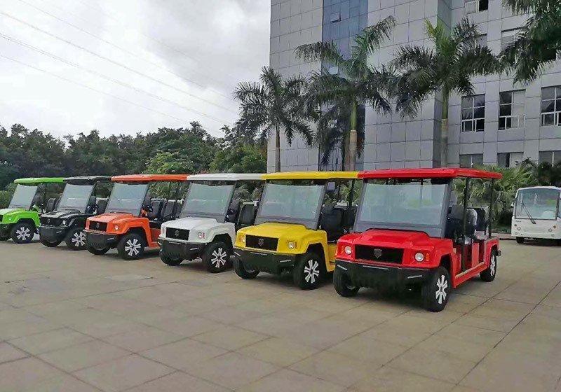 4座景区观光车