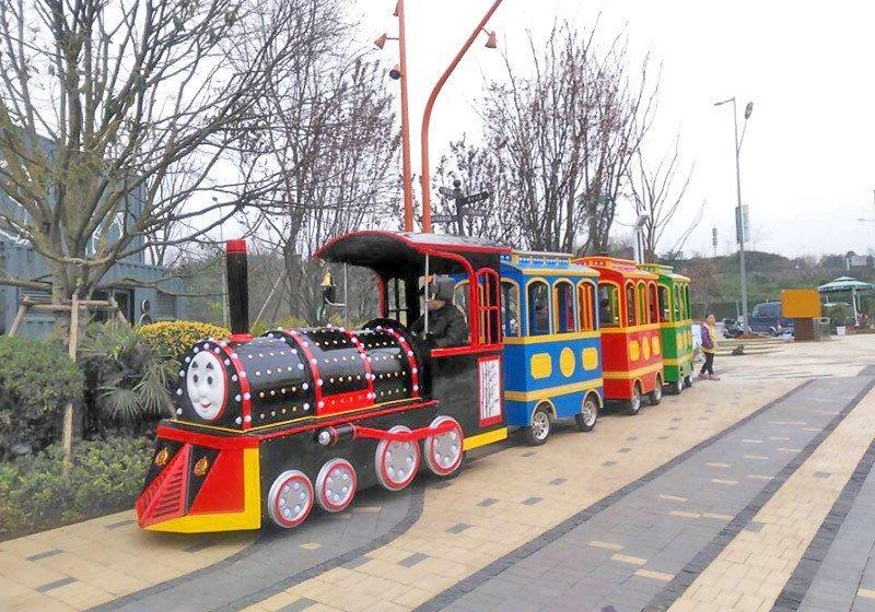 笑脸小火车,笑脸无轨小火车,笑脸电动小火车
