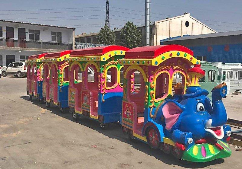 大象小火车,大象电动小火车,儿童无轨小火车