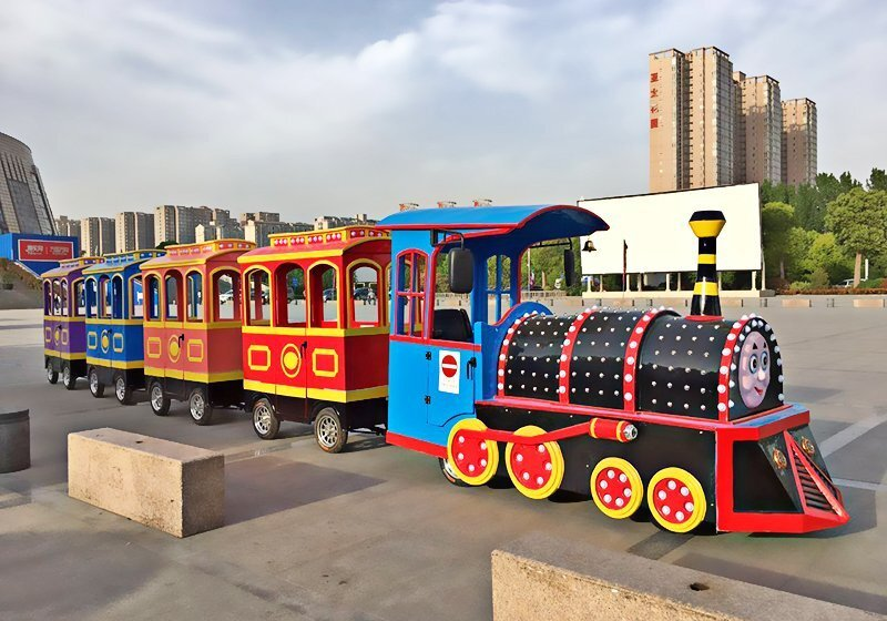 广场小火车,广场电动小火车,广场儿童轨道小火车