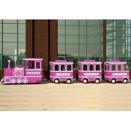 四节车厢电柜火车