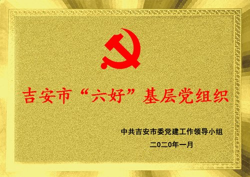 """喜报:我校党支部喜登吉安市""""六好""""基层党组织光荣榜"""
