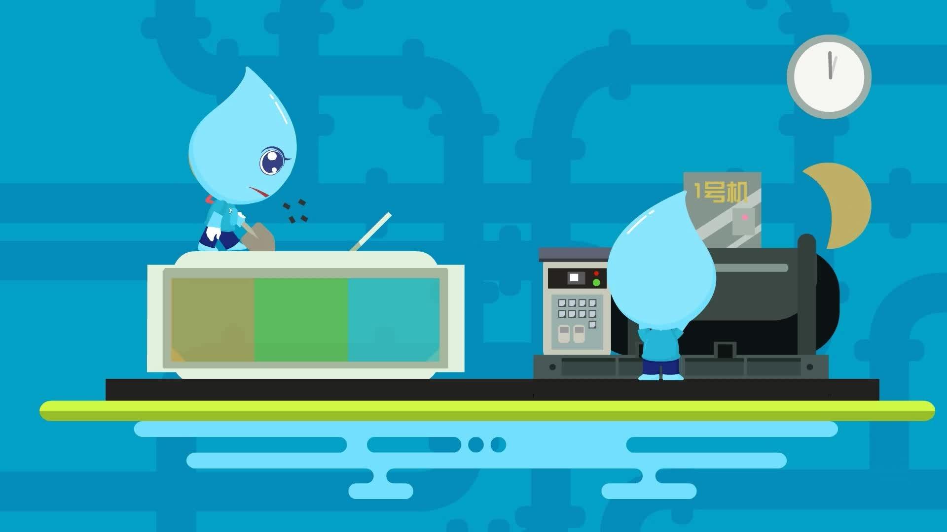 动画宣传片-水务集团