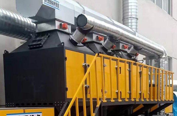 活性炭废气催化燃烧设备(活性炭吸附箱)_性能_参数_价格