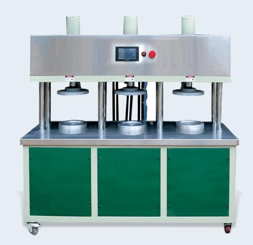 三缸压饼机