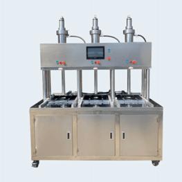 三工位自动压饼机