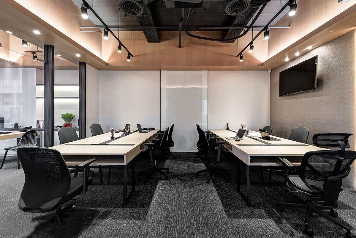 澳盛公司办公室设计装修