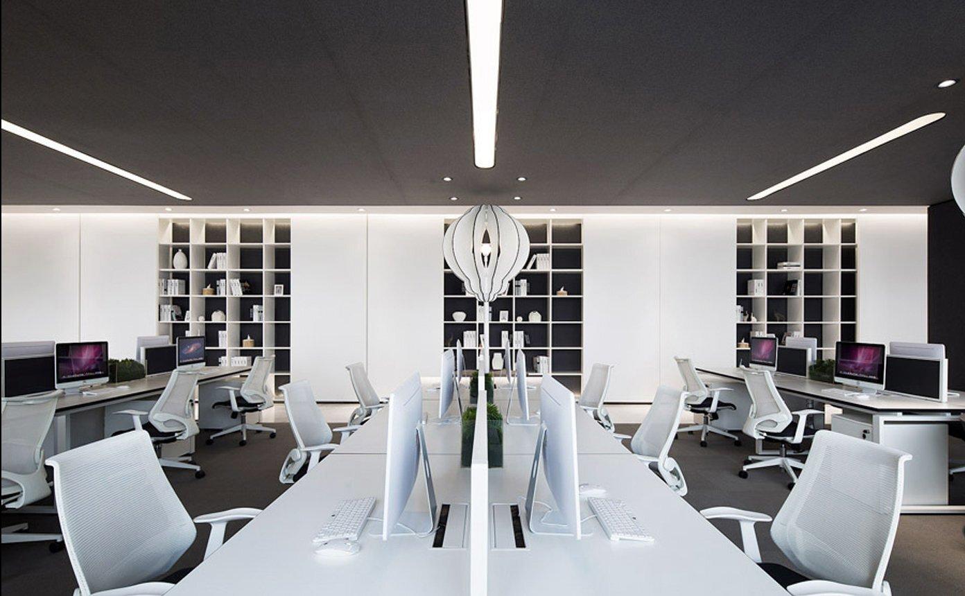 9中微公司上海办公空间装修设计