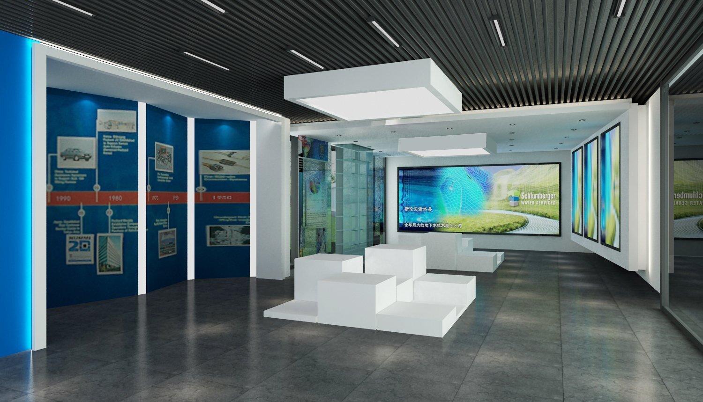 斯伦贝谢水务办公室装修设计工程